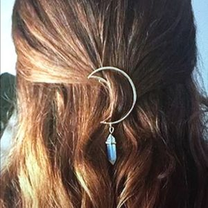 Accessories - BOHO STONE HAIR BARRETT